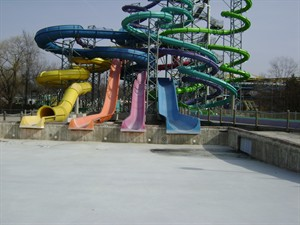 Wildwater Kingdom Water Slide Injection